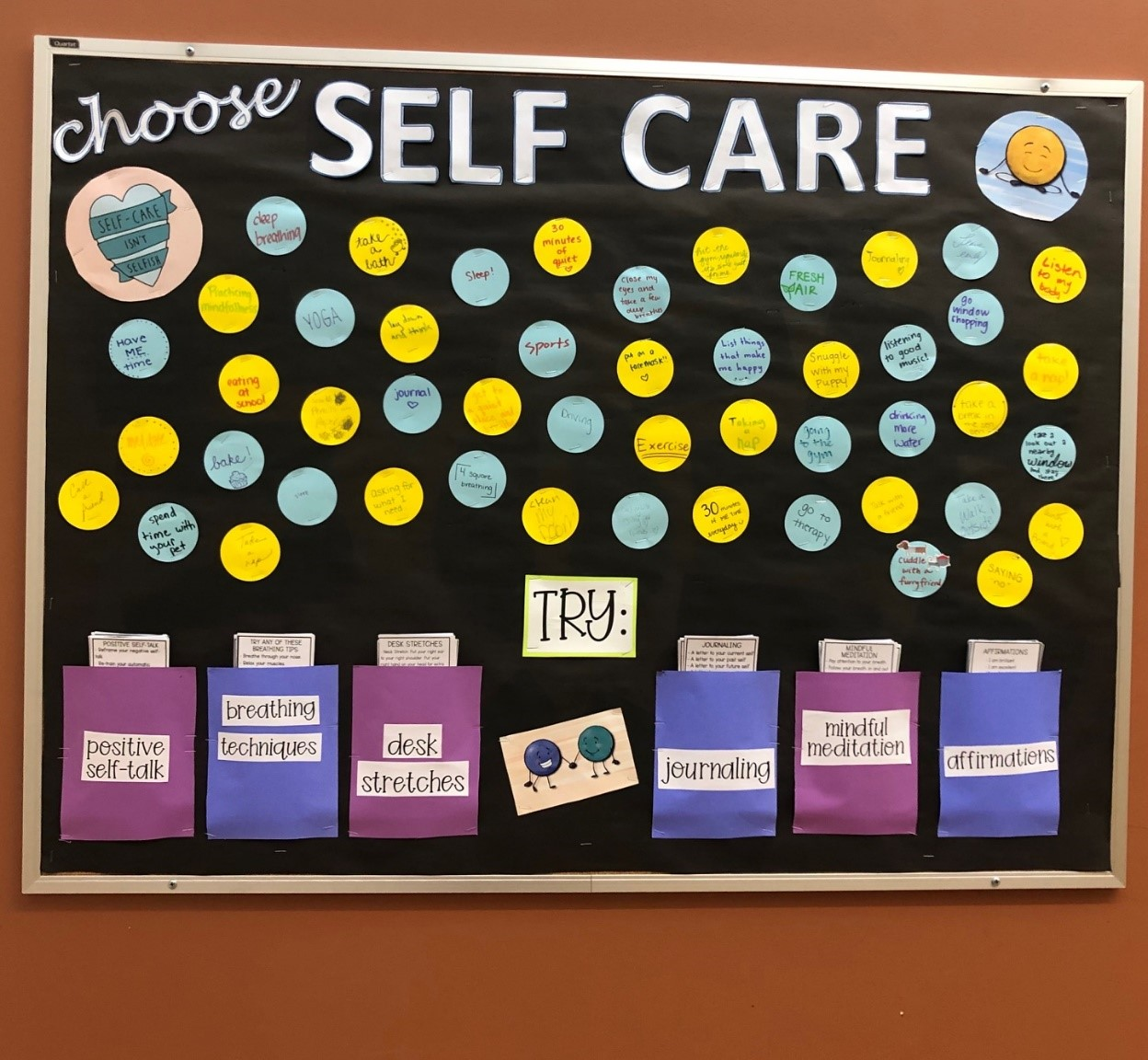 The Counseling Corner: Self-Care
